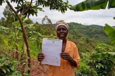 Land tenure: breaking the cycle of poverty
