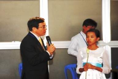 A Prayer from a Christian Representative on the Inter-Religious Gathering (27 Oct. 2012)