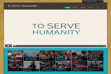 `To Serve Humanity` – youth discuss contributing to the betterment of society in a series of short films