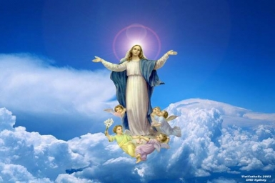 Mary`s the Assumption into Heaven-Guide of Christianity