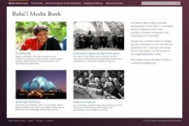 Baha'i Media Bank online