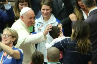 Where does every vocation start? The family, Pope Francis says