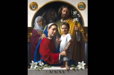 The Official prayer and the image for World Meeting of Families