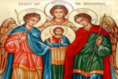 Saints Michael, Gabriel, and Raphael, Archangels (29 Sept)