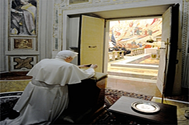 Pope Benedict`s prayer intention for May
