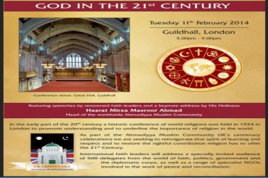 God in the 21st Century: Conference of World Religions