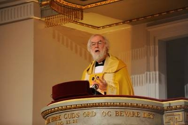 Archbishop Rowan Williams to speak at Ecumenical Centre, Geneva