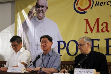 Schedule released for Pope Francis in Sri Lanka and the Philippines (Jan 2015)