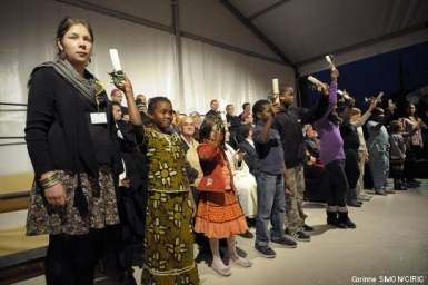 Rencontre des religions pour la paix à Paris