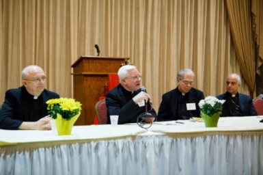 Archbishop Fisichella speaks about vocations event