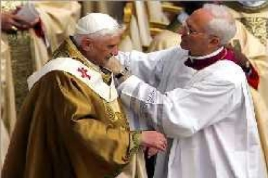 Homily of His Holiness Benedict XVI (24 April 2005)