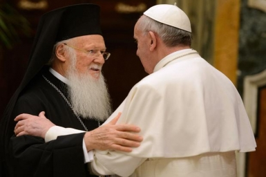 Pope`s message to Ecumenical Patriarch