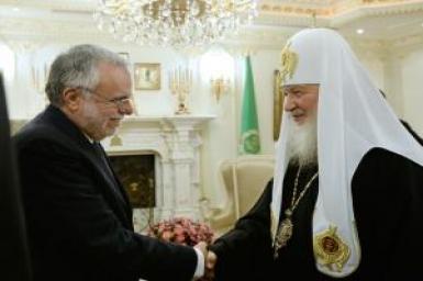La paix et le dialogue au centre de la rencontre entre Andrea Riccardi et le patriarche de Moscou et de toutes les Russies, Kiril