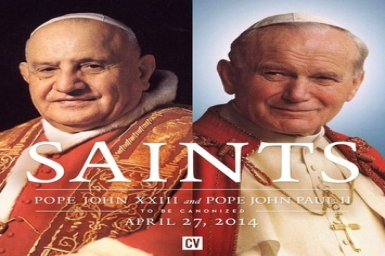 Preparing for the canonisations of Blesseds John XXIII and John Paul II