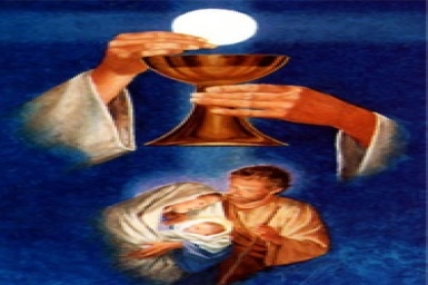 Bread from Heaven: Gospel by pictures of Sunday XVIII in Ordinary Time (5 Aug 2012)