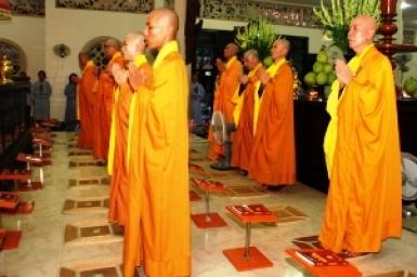 The Repentance Celebrating at Hoang Phap Pagoda