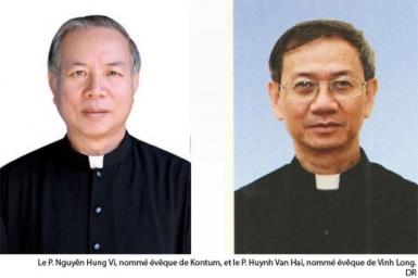 Nomination de deux nouveaux évêques