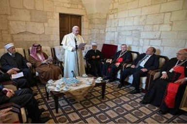 Mufti of Jerusalem and Pope Meet during Historic al-Aqsa Visit