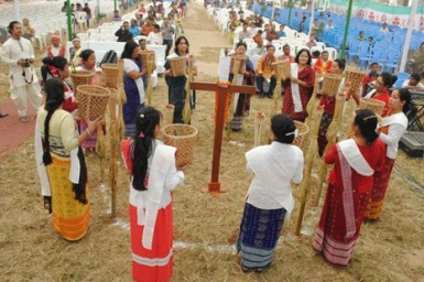 Tribe mixes tradition with the Bible to preserve way of life