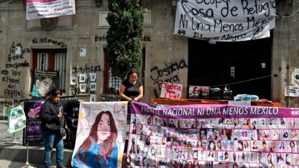 Activists demand action from Mexico's Human Rights Commission