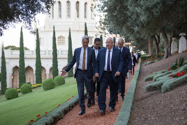 President of Israel visits World Centre to honor bicentenary amid wave of commemorations in Haifa and across the globe