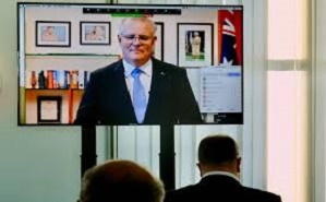 Australian Prime Minister and MPs mark community's centenary at Parliament