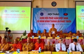 Vietnam Buddhist Sangha's contributions celebrated at conference