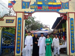 Feast of Caodaist Temple Vo Vi Huynh Quang Sac (Oct. 22, 2018)