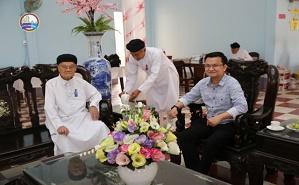 Arab 24 News Agency Made a Reportage on Cao Dai Religion at The Cao Dai Tay Ninh Holy See