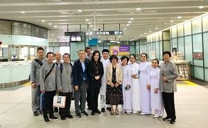 Weixin Shengjiao Delegation Visited Taipei Cao Dai Congregation in Taiwan