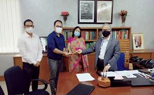 Caodai Overseas Missionary Gave M.Phil Research Scholarship To Injamam Mojumder, University of Dhaka, Bangladesh