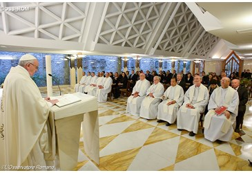 Pope Francis: Christian harmony vs contrived tranquility