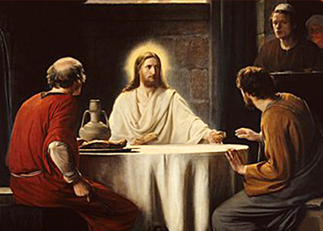 Daily Meditation: ``Then their eyes were opened, and they recognized him`` (Mar 30, 2016)