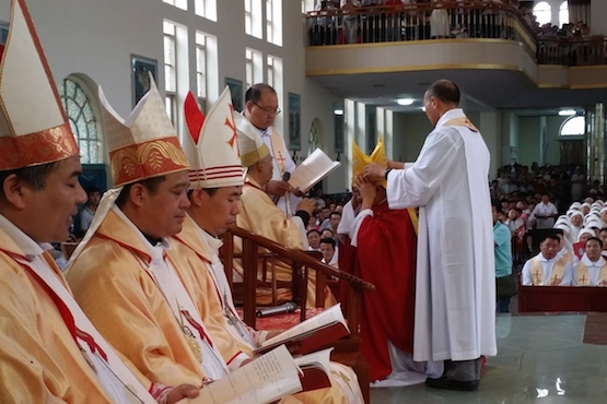 Mainland China has 112 bishops, 99 in active ministry