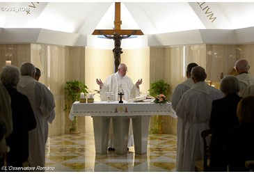 Be docile to the Holy Spirit - Pope Francis at Casa Santa Marta