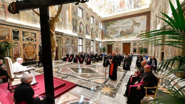 Pope to ROACO: Care for living stones of the Church