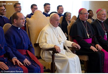 Pope Francis to Scots College: be courageous, merciful priests