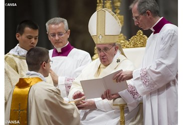Pope ordains 11 on World Day of Prayer for Vocations