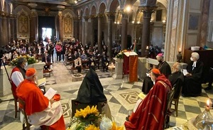 Ecumenical prayer for the Armenian martyrs