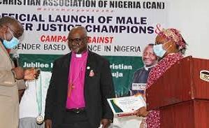 LWF President Musa receives `Patron of Gender Justice Champion` award