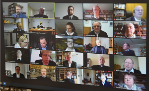 The Pontifical Council represented at the Advisory Board of the Möhler Institute