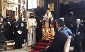 Enthronement of the new Orthodox Metropolitan of Italy 11 Mar 2021