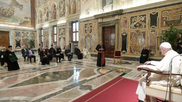 Pope: Ecumenical dialogue must be grounded in a reflection of synodality