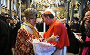 A delegation of the Holy See takes part in the patronal feast of the Ecumenical Patriarchate