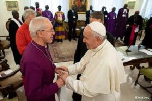 Christmas Message to South Sudan political leaders from Pope Francis, Archbishop Welby and Reverend Martin Fair