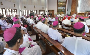 Asian cardinals appeal for peace in Myanmar