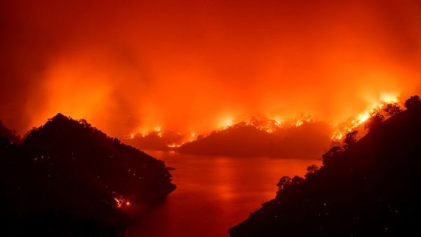 California wildfires: 'God's love is fiercer than any fire'