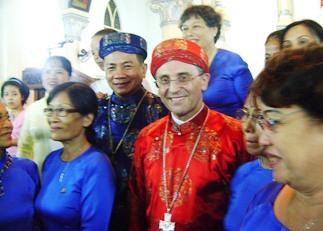 5 années de présence au Vietnam pour le représentant du Saint-Siège