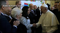 Pope arrives to Assisi: Greets 500 participants of interreligious meeting (Sept. 20,2016)
