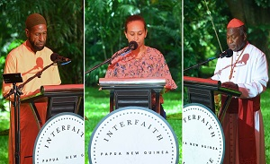 """""""Gathering under the 'tent of unity'"""": Interfaith in PNG finds new path"""